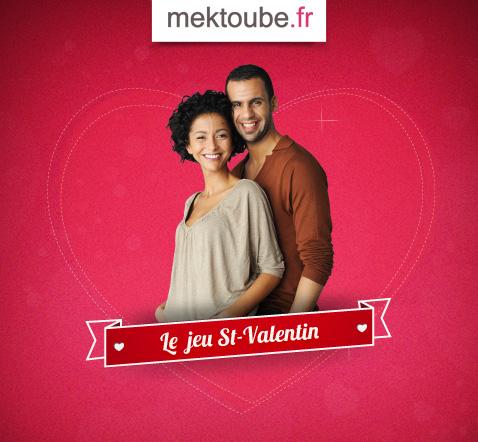 Jeu Mektoube St Valentin 2012